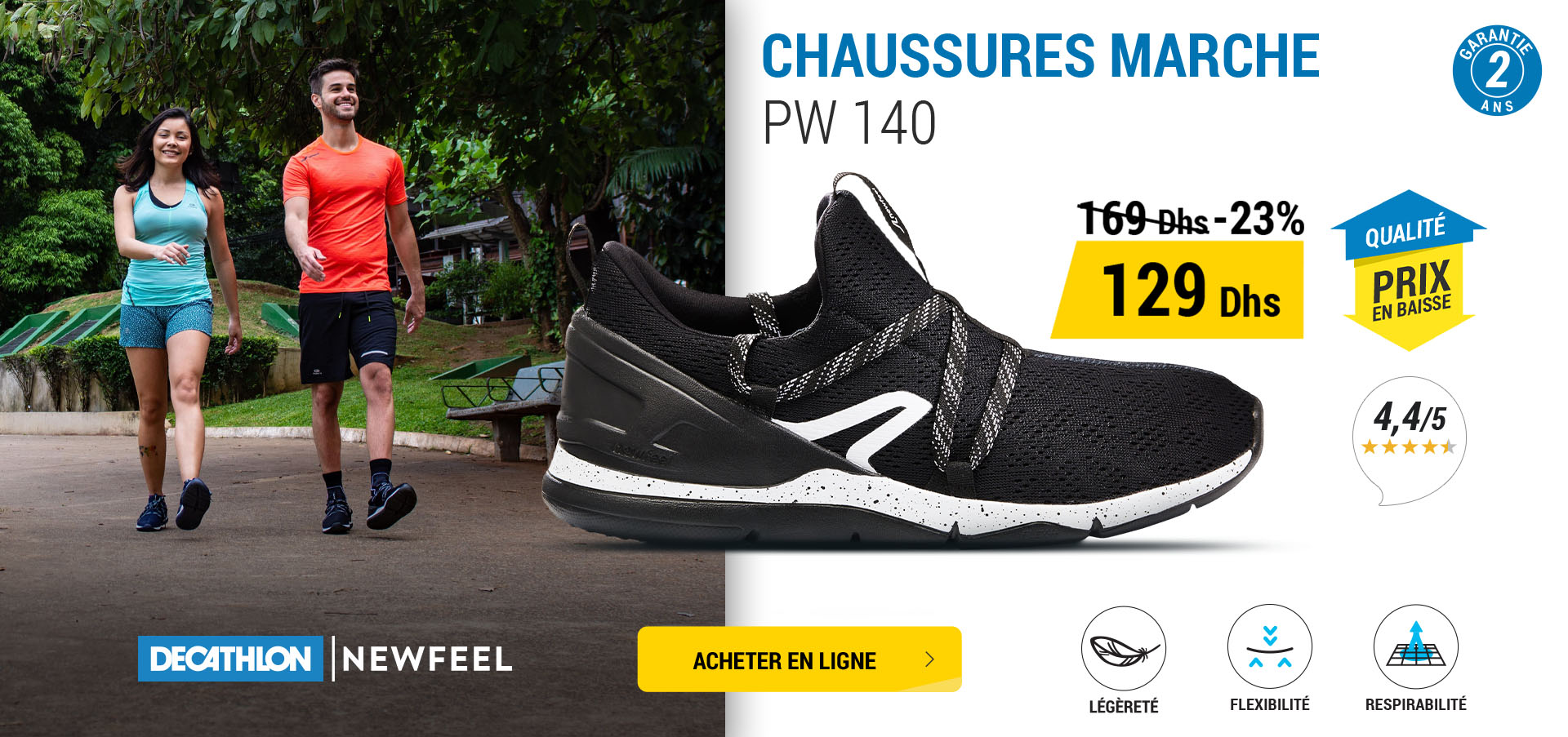 Chaussure marche solde